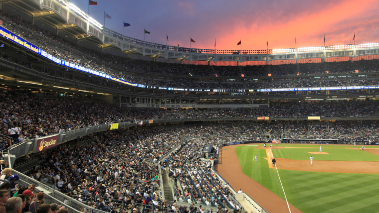 Baseball Game, Yankee Stadium, Bronx, New York City, United States of America, North America