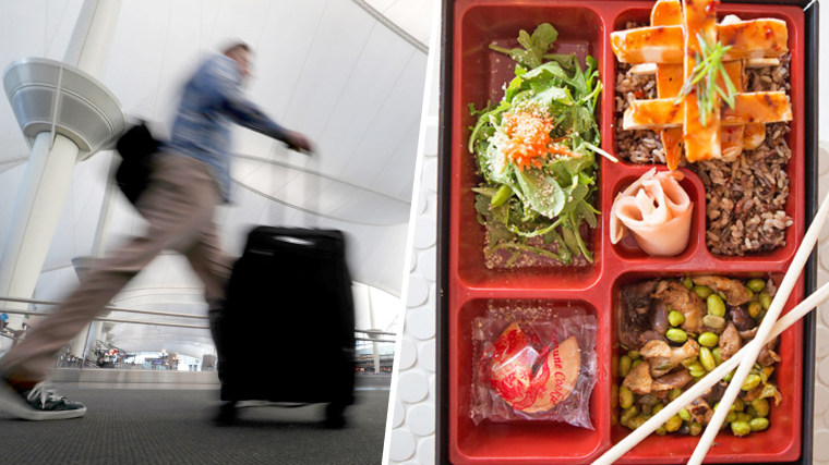 The best and worst airport food in the U.S.
