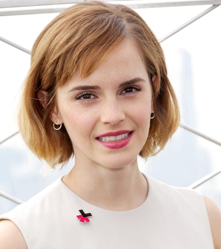 Emma Watson bangs Empire State Building