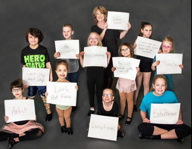 Kim Smith started A Chance to Dance for students withs disabilities
