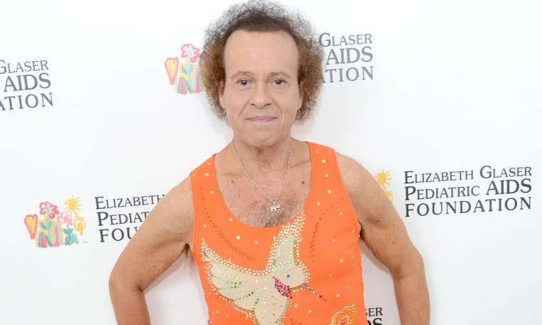 Richard Simmons at the MTV Video Music Awards in 2013.