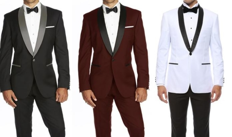 Two-tone tuxedo