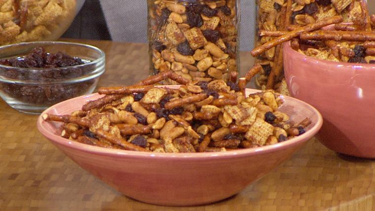 Cajun Cereal Trail Mix