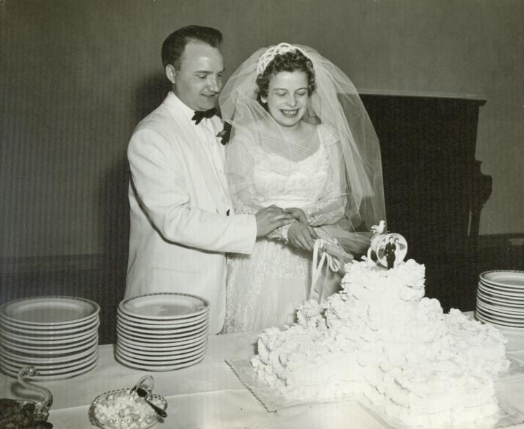 Bates wedding 1957