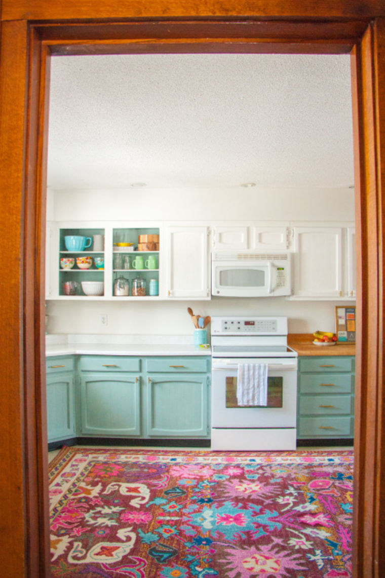 Bright kitchen makeover