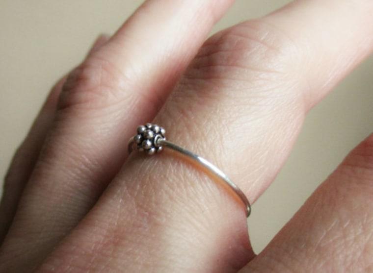 Daisy Fidget Ring