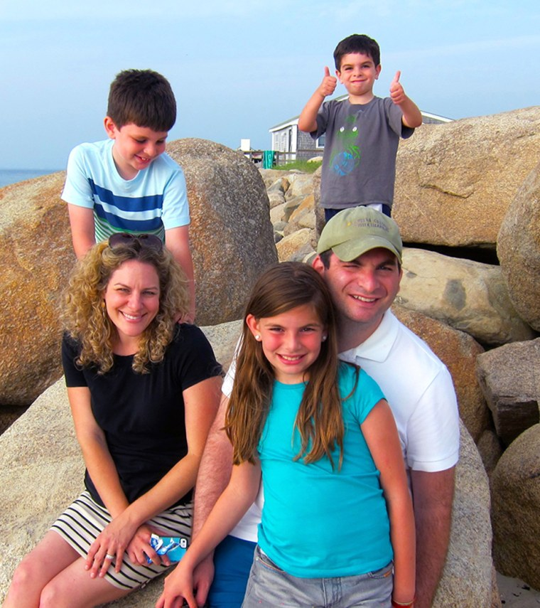 Jill Smokler (Scary Mommy) and her family