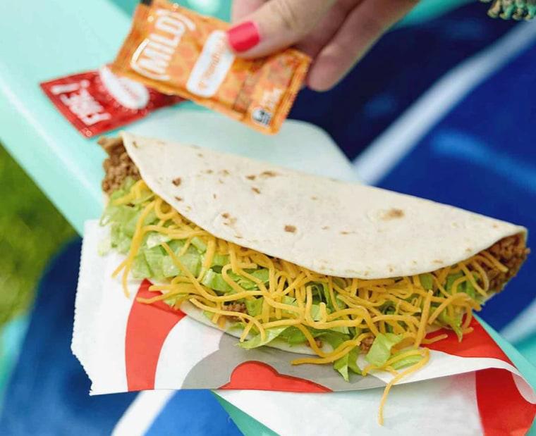 Taco Bell: Fresco Grilled Steak Soft Taco