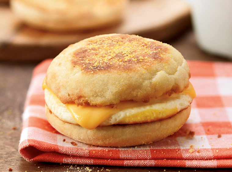 Dunkin Donuts: Egg and Cheese English Muffin