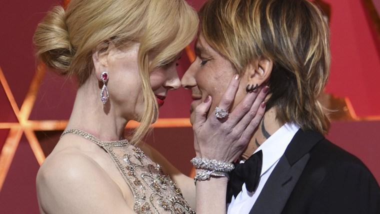 2017 Oscars: Nicole Kidman, Keith Urban