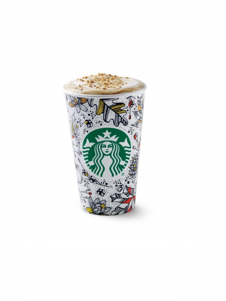 Starbucks fall cup