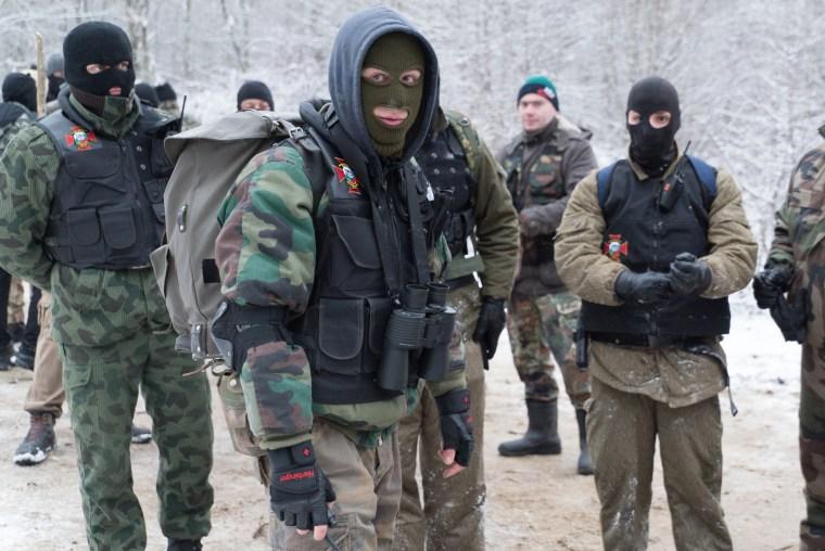 Image: Members of BNO Shipka