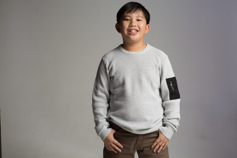 """12-Year-Old Albert Tsai currently portrays Dave on """"Dr. Ken"""""""