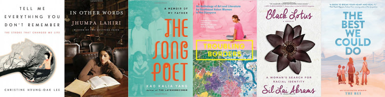 For National Reading Month and Women's History Month, here are six memoirs by Asian-American women.