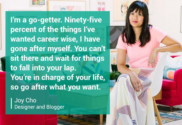 Joy Cho, Designer and Blogger