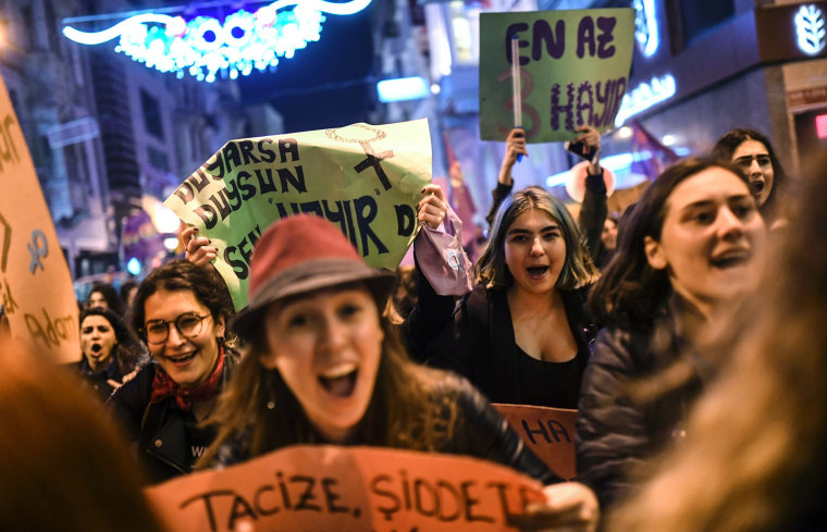 Image: TURKEY-WOMEN-DAY