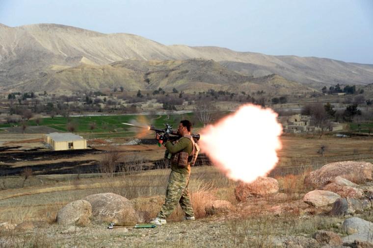 Image: Afghanistan targets ISIS militants