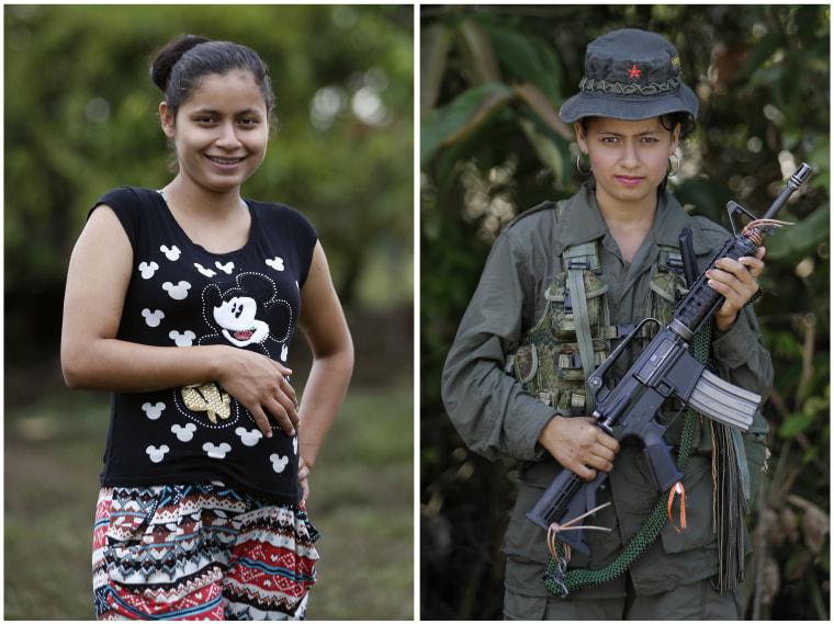 Image: FARC rebel Mayerly Munoz