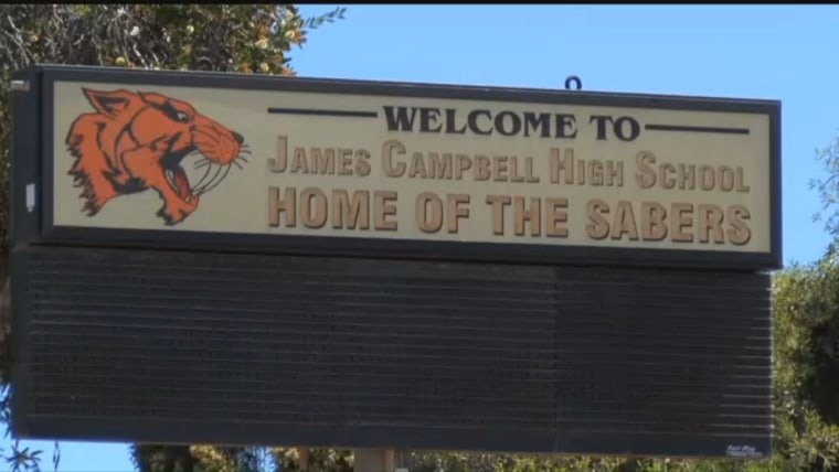 """A teacher at Campbell High School in Ewa Beach, Hawaii, said in an email that he would not teach students in the U.S. """"illegally."""""""