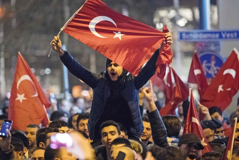 Image: NETHERLANDS-TURKEY-POLITICS-DIPLOMACY