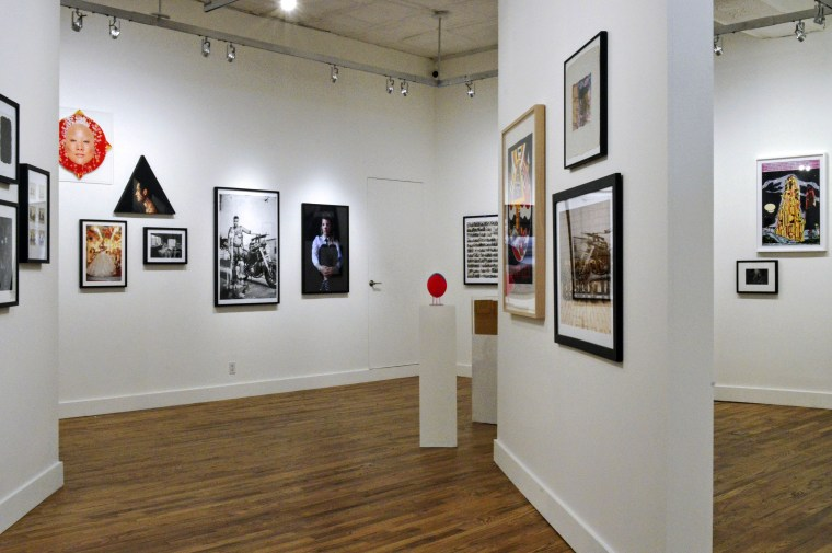 Installation view, Expanded Visions: Fifty Years of Collecting, at Leslie-Lohman Museum of Gay and Lesbian Art, 2017.