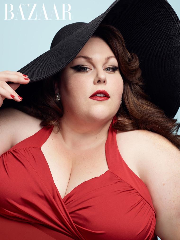 Chrissy Metz in Harpers Bazaar