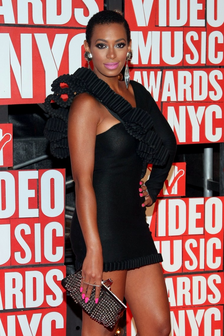 Solange Knowles Shaved Head