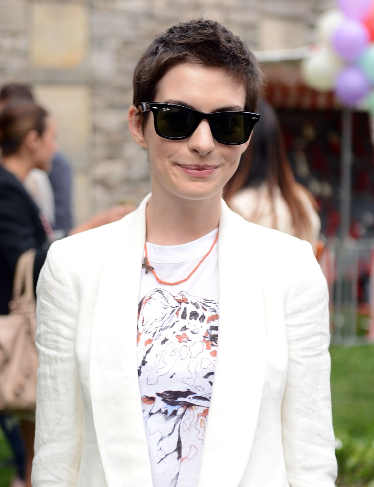 Anne Hathaway Shaved Head