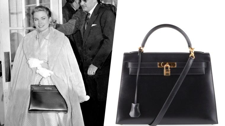 Grace Kelly - Hermes Kelly bag