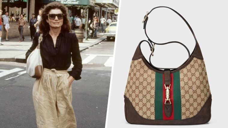 Jackie Kennedy - Gucci Jackie bag