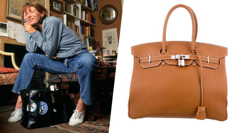 Jane Birkin - Hermes Birkin bag