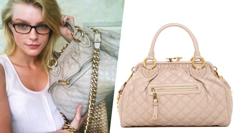 Jessica Stam - Marc Jacobs Stam bag