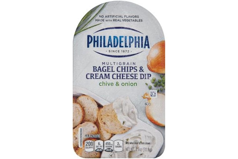 Philadelphia Multigrain Bagel Chips & Cream Cheese