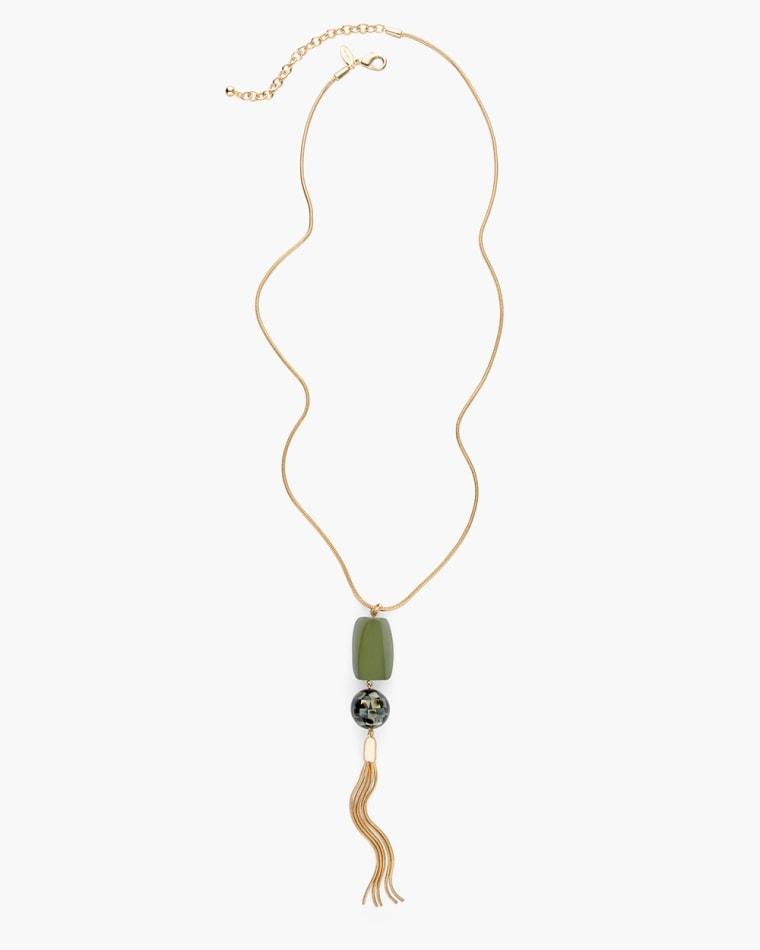 Olivia Tassel Necklace