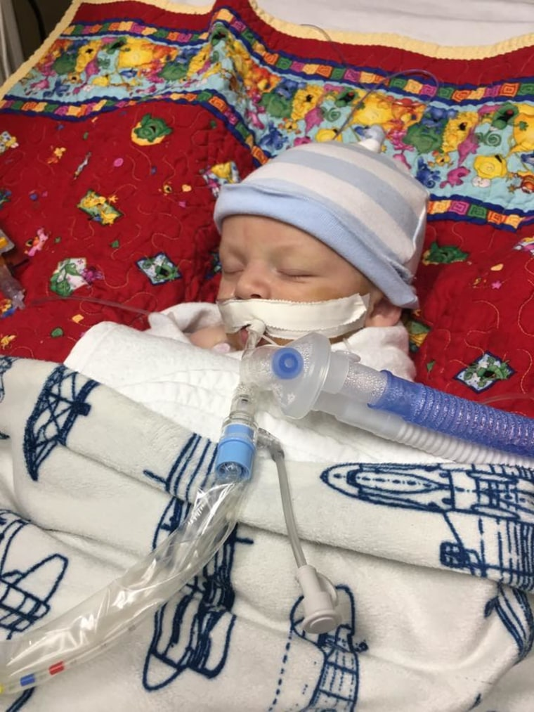 For 13 days, Reagan Caldwell was in the pediatric intensive care unit, receiving treatment for meningitis and sepsis, which he developed after GBS exposure. Mom Amanda hopes that sharing his story will help others become aware of the signs and symptoms.
