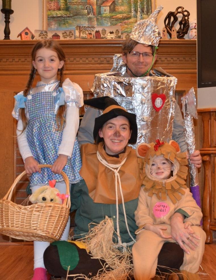 Cara Hughes' Family Fairy Tale Photo