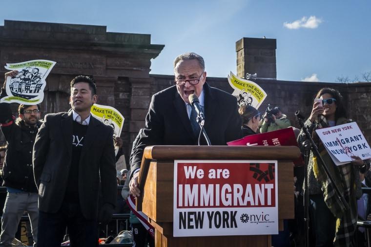Image: New York State Sen. Chuck Schumer