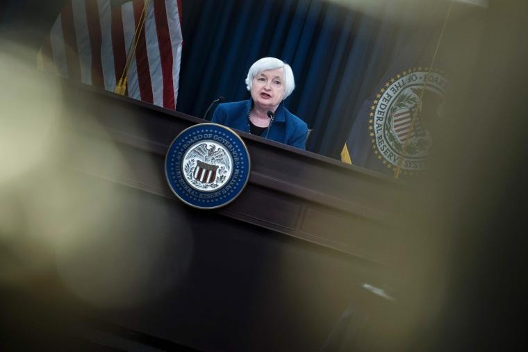 Image: Federal Reserve Board Chairman Janet Yellen