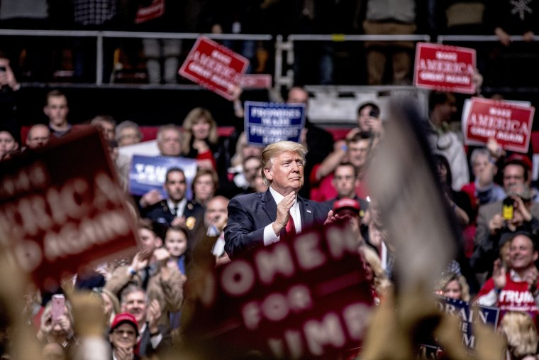 Image: President Trump Holds Rally In Nashville, Tennessee