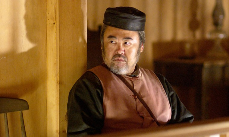 Image: Keone Young as Mr. Wu in Deadwood