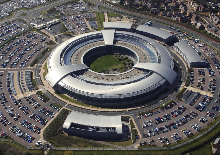 Image: Britain's Government Communications Headquarters (GCHQ) in Cheltenham, Gloucestershire.
