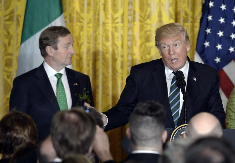 Image: President Trump Hosts Reception For Irish PM