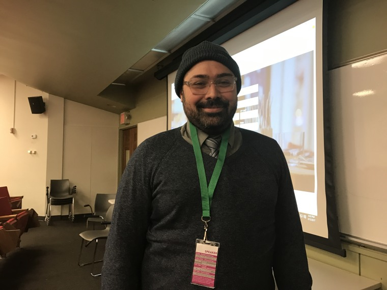 Jose Chapa spoke about food equity for farmworkers at 2017 Just Food Conference in New York
