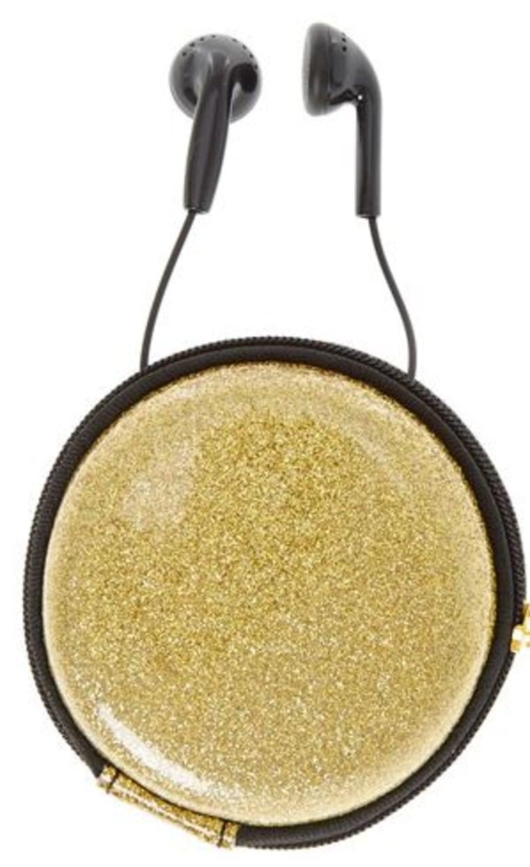 Glitter earphones