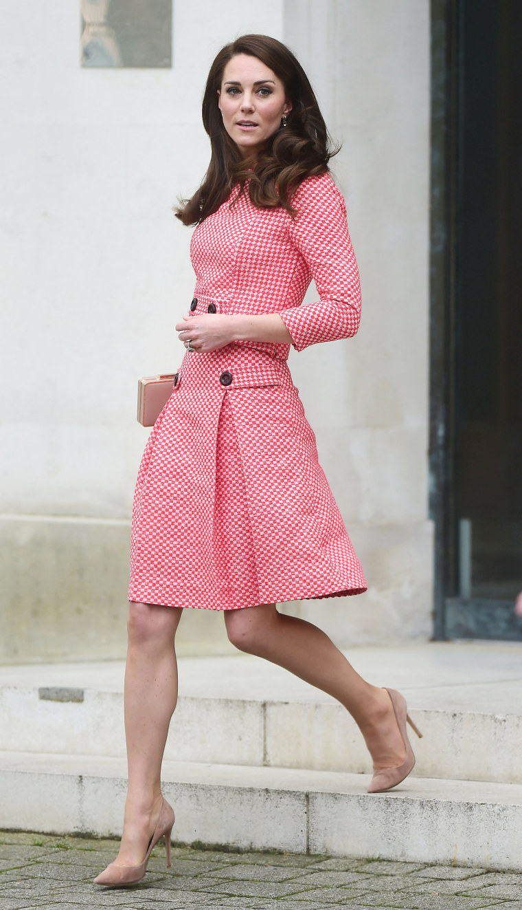 The Duchess of Cambridge, Kate Middleton, talks about maternal mental health