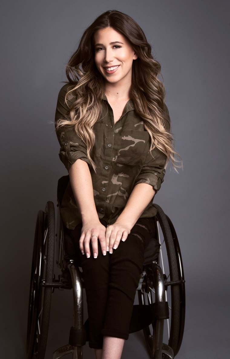 Chelsie Hill who started a wheelchair dance team in LA, called The Rollettes.
