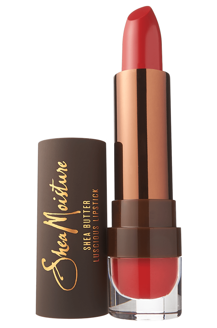 SheaMoisture Shea Butter Luscious Lipstick in Poppy