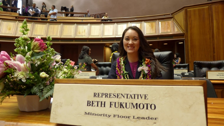 Hawaii State House of Representatives Minority Leader Beth Fukumoto Chang