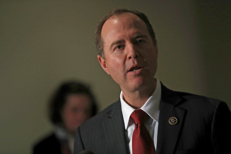 Image: Rep. Adam Schiff (D-CA) Discusses House Intelligence Committee Investigation Into Russian Issues
