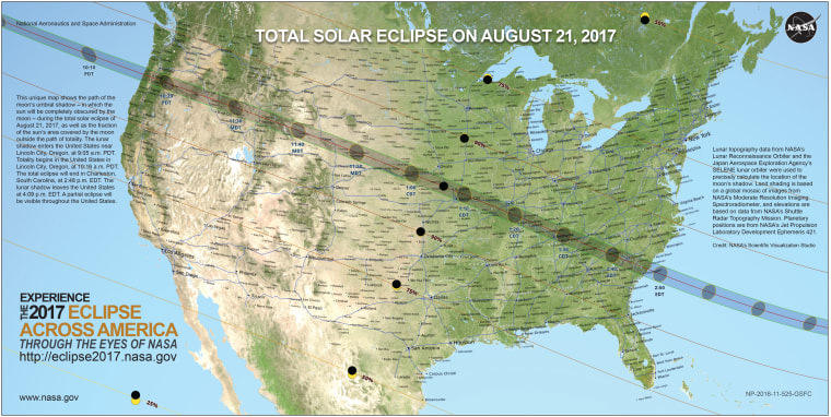 More than 50 million people live within a few hours' drive of the path of totality.